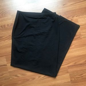 ASOS maxi skirt with slit